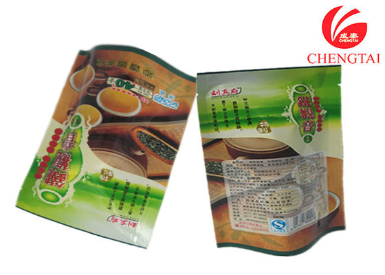 Cina Kopi / Teh Gunakan Colourful Printing Stand Up Barrier Pouches, Free Standing Punch Bag pemasok