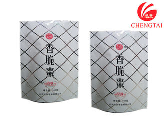 Cina Metalized Material Barrier Stand Up Plastic Pouch untuk Kemasan Snack pemasok