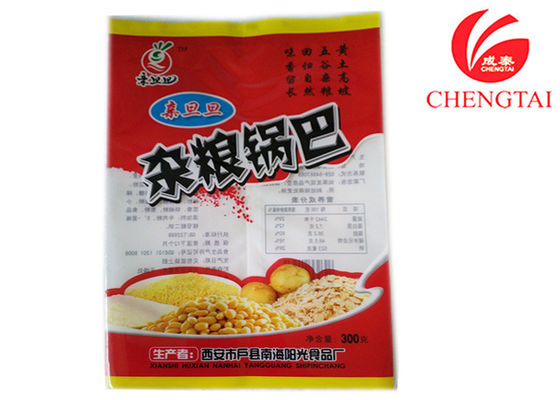 Cina Transparent Snack Food Packaging Pouches With Good Prevent Leakage QS Approval pemasok