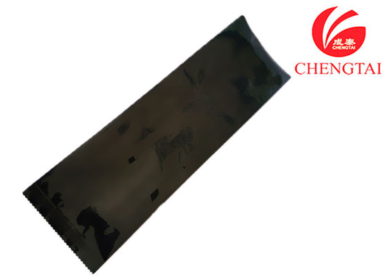 Cina Black Resealable Coffee Bags With Valve , Reusable Side Gusset Bag pemasok
