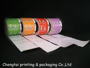 Cina Customed Rollstock Film , Sugar Plastic Film Printing Eco - Friendly pemasok