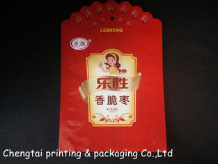 Cina Custom Pet Food Packaging Red Dog Treats Packaging Gravure Printing pemasok