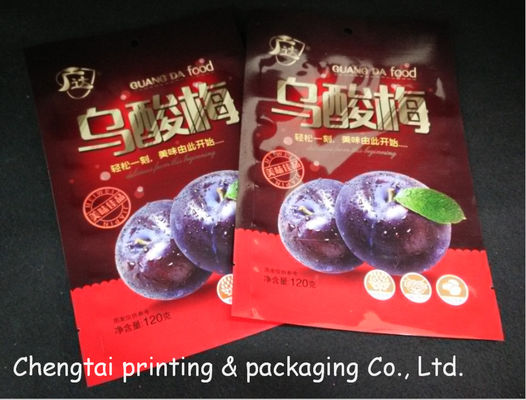 Cina Three Layers Dried Fruit Packaging Bags Heat Seal Low Temperature Resistance pemasok