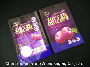 Cina Semi Vmpet Laminated Dried Fruit Bags , Recyclable Dry Fruit Bag Non - Leakage pemasok