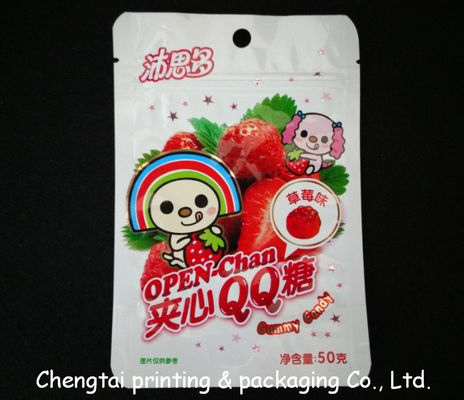 Cina BOPP Plastic Resealable Snack Packaging Pouches for Fruit Snack pemasok