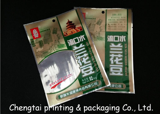Cina Economic Flexible Snack Packaging Bags / Semi Transparent Food Packaging Pouches pemasok