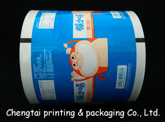Cina Eco - Friendly Metallize Rollstock Film / Plastic Packaging Film With Vivid Image pemasok