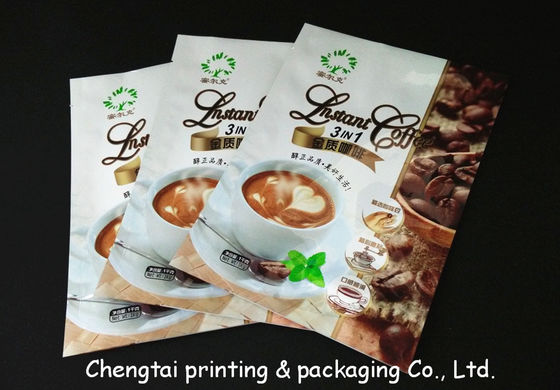 Cina Aluminum Non - Leakage Coffee Packaging Bags Light Resistant Plastic Coffee Bags pemasok
