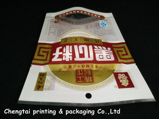 Cina Transparent Snack Food Packaging Plastic Bags With High Barrier Three Layers pemasok