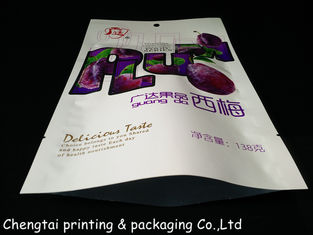 Cina Fashion Dried Fruit Bags / Dry Fruit Packaging Pouch With Three Layers Materials pemasok