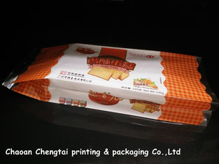 Cina Food Grade Gusseted Plastic Bags For Biscuit / Bread / Cake Packaging QS Approval pemasok