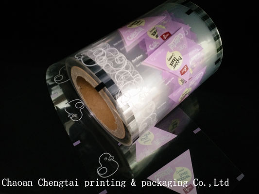 Cina Transparent Roll Stock Film Packaging Film For Fruit Candy / Gummy Candy pemasok