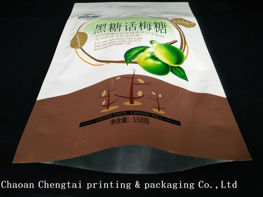 Cina Digital Printing Food Grade Dried Fruit Packaging Bags With Heat Sealable pemasok