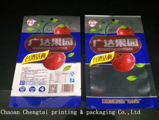 Cina Different Design Dry Fruit Packing Bags Clear Window For Leisure Food 500g pemasok