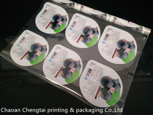 Cina Easy Tear Food Grade Cup Sealer Film For Jelly Non Toxic QS Certification pemasok