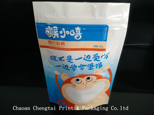 Cina Durable 100g Dry Fruit Bag Packing Of Dry Fruits , Easy To Reclose pemasok