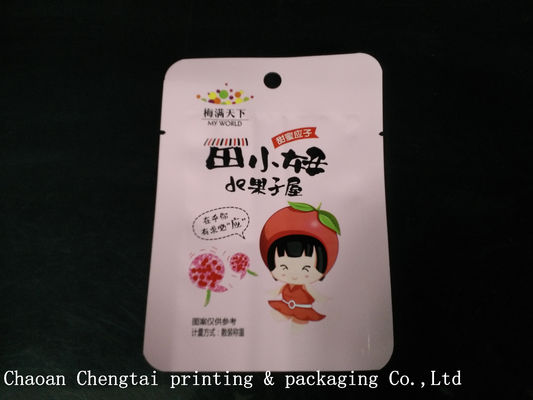 Cina Colorful Snack food Packaging pouch / Dry Fruit Plastic Small Pouches W9.5*H13cm pemasok