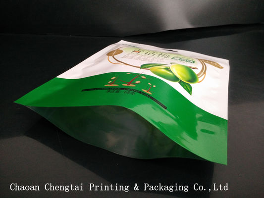 Cina Flexible Dried Fruit Bags Heat Sealable Plastic Packaging Bags 68g For Dry Fruit pemasok