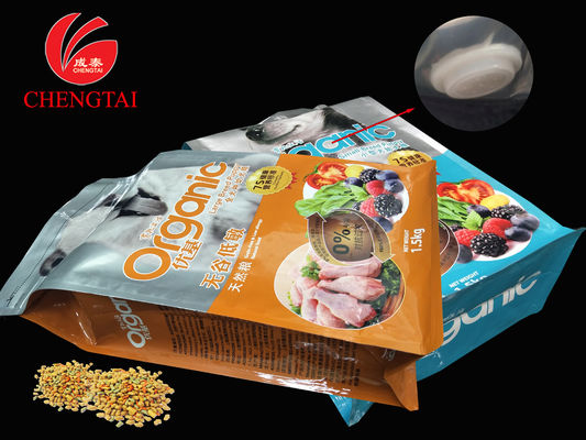 Cina 1kg , 1.5kg , 2kg , 3kg Dog Food Packaging Pet Plastic Zipper Pouches with Valve pemasok