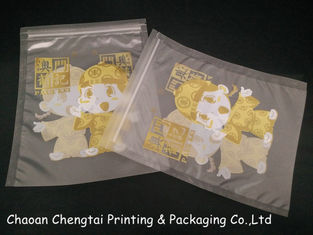Cina Custom Printed Food Packaging Pouches / Three Side Seal Pouch for Food pemasok