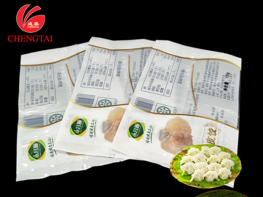 Cina 150g Custom Order Retort Packaging Pouch / Dumpling Packaging Bags pemasok