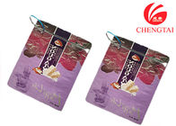 Zipper Top Sealing & Handle Stand Up Resealable Pouches untuk Kemasan Gula