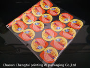 Cina Eco - Friendly Peelable Plastic Cup Sealer Film For Cold Drinks / Soy Milk Cup pabrik