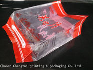 Side Gusset Cold Meat Packing Bags Pouch / Meat Ball Packaging Bag