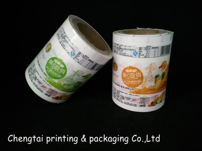 Customed Rollstock Film , Sugar Plastic Film Printing Eco - Friendly
