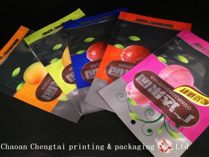 Different Design Dry Fruit Packing Bags Clear Window For Leisure Food 500g