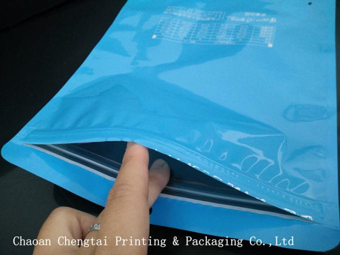Two Layers 95 Micron Durable Clothing Plastic Packaging Pouch For Underpants