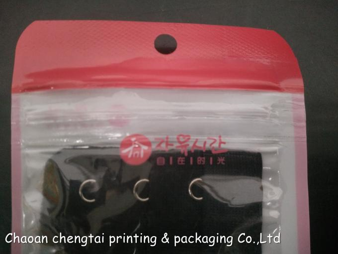 Small Plastic Clothing Packing Bags Clothes Packaging Bags with Zipper / Window