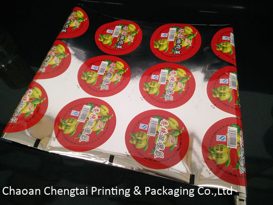 Cina Custom Printed Cup Sealing Packaging Film Pickle Vegetables Cup Sealer Film Distributor
