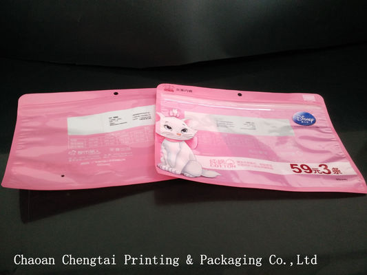 Cina Standard  Color Clothing Packaging Bags For Glove / Cap / T - Shirts Distributor