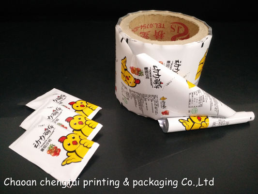 Cina Heat Sealability Food Grade Rollstock Film Good Moisture Proof For Ketchup Distributor