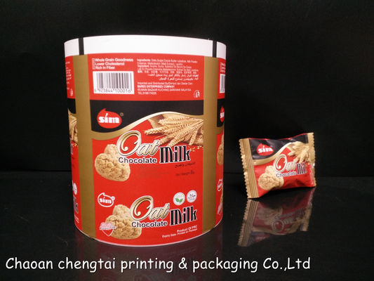 Cina Custom Thickness Snack Packaging Roll Stock Film / Auto Packaging Film For Oatmeal Distributor