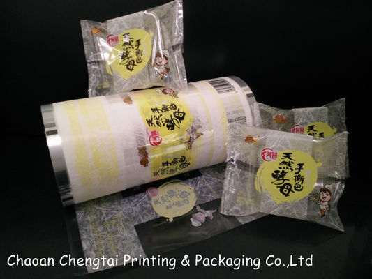 Cina 50 Micron UV Printed Rollstock Film Bread Packaging Film Inflatable QS Approval Distributor