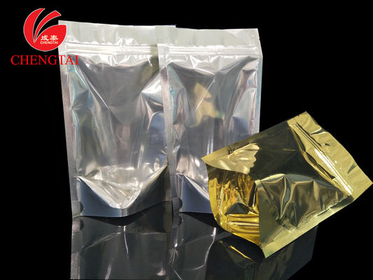 Cina Golden Stand Up Food Packaging Pouches with Zipper for Cereal , Coffee Beans Distributor