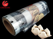Security Printing Film / 5 oz Food Packaging Film Roll Stock for Auto Machine